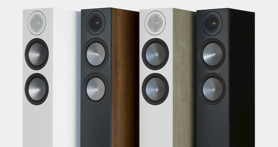 Monitor Audio Bronze 200 Loudspeaker Finishes