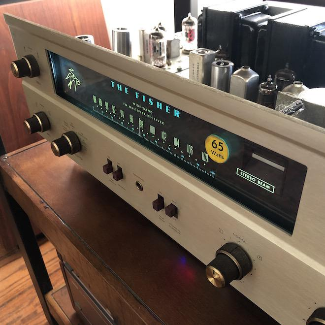 Vintage Fisher 400 FM Vacuum Tube Stereo Receiver