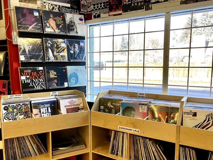 Melodiya Record Store in Calgary, AB