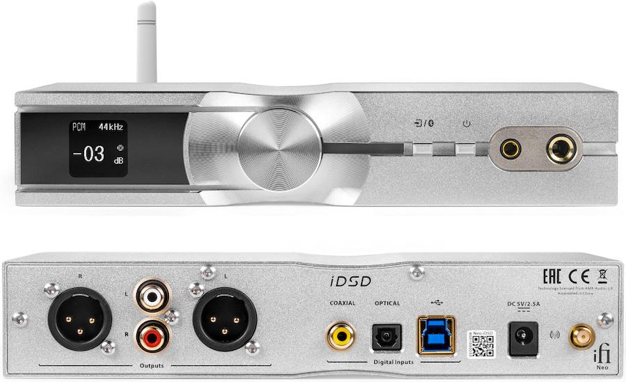iFi Audio Neo iDSD Front and Back
