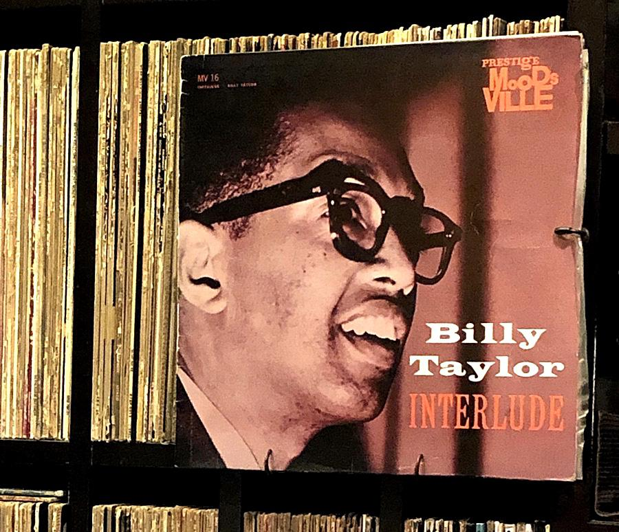 Billy Taylor's Interlude, purchased on Discogs just days ago. Currently in transit, somewhere between Paris and Calgary.