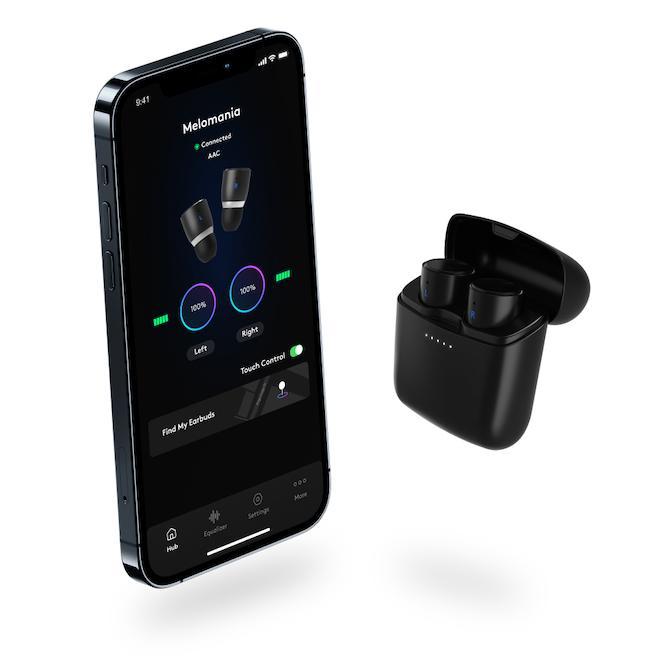Cambridge Audio Melomania 1+ Wireless Earbuds with App