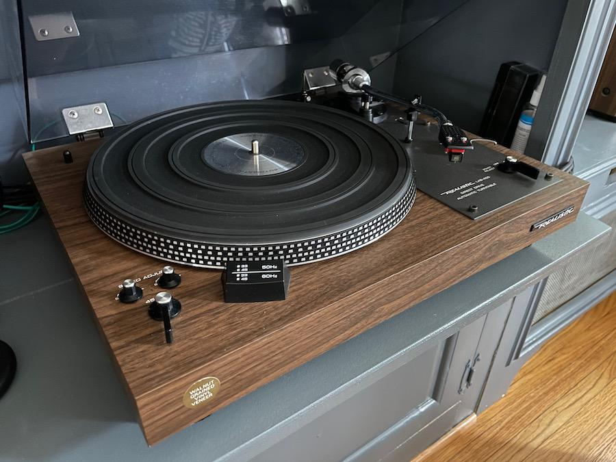 Realistic LAB-400 Direct Drive Automatic Turntable