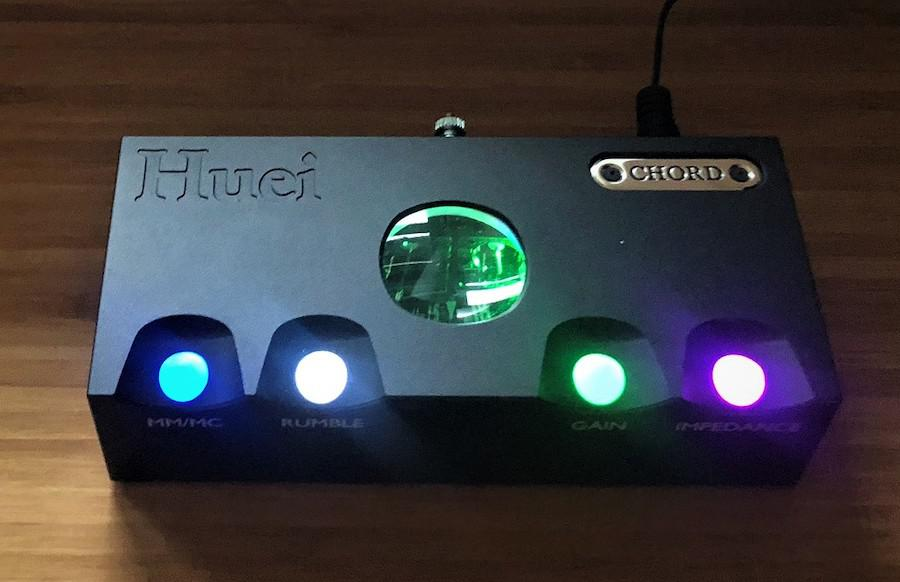 Chord Huei Front with Lights On