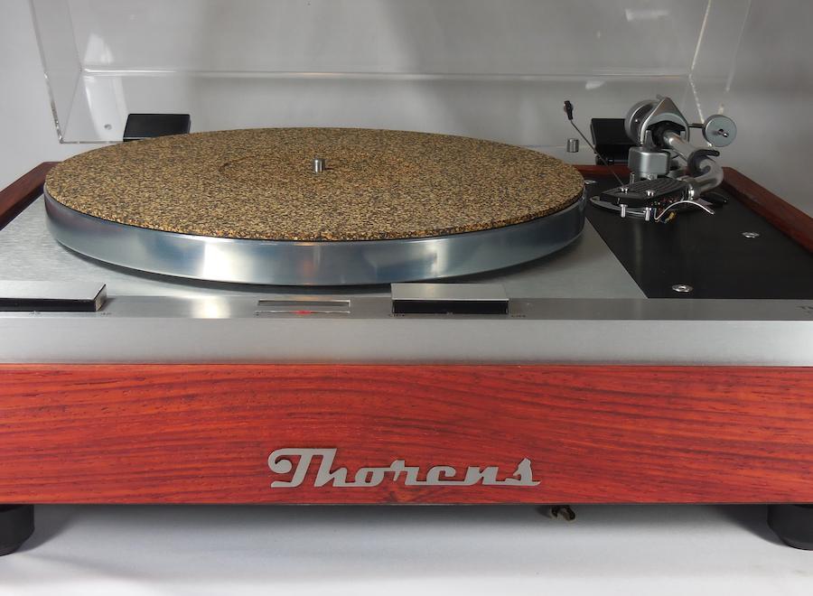 Thorens TD-125 MK II Turntable Restoration Front