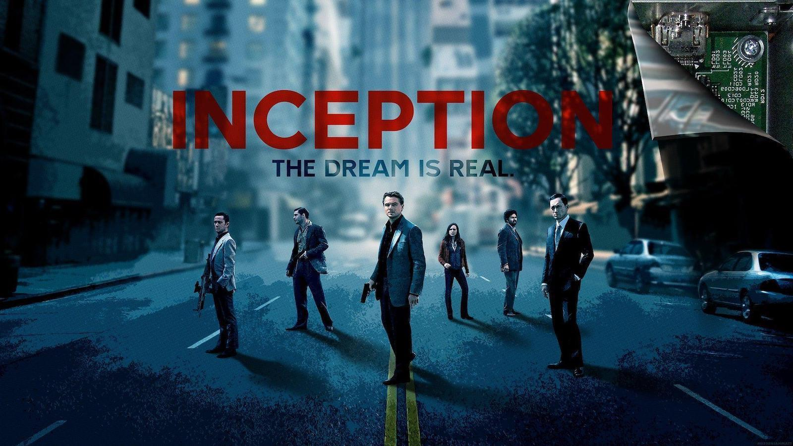 Inception Movie Poster - The Dream in Real