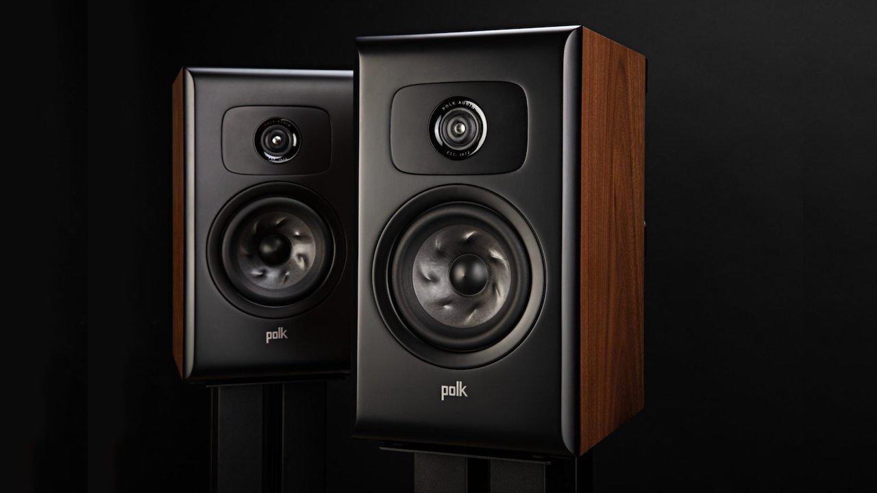 Polk Audio Legend L100 Stand-mount Loudspeakers in brown