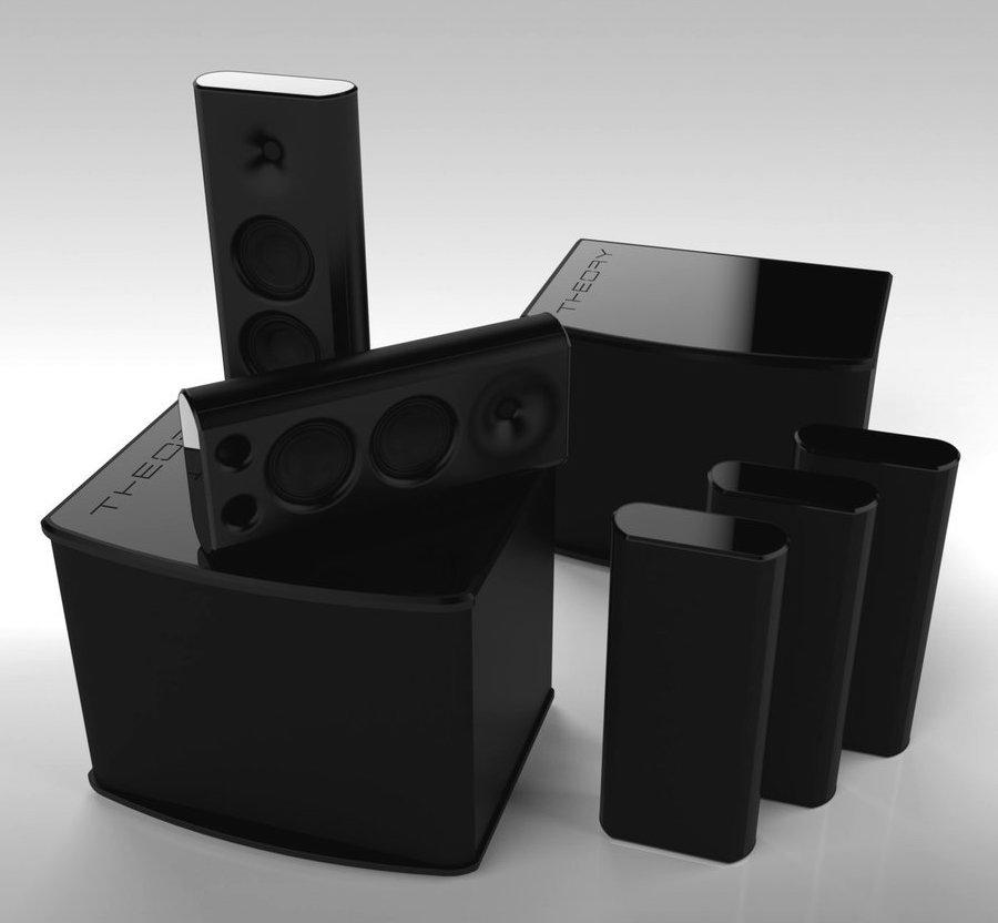 Theory Audio Design sb15 Subwoofer with sb25 Speakers