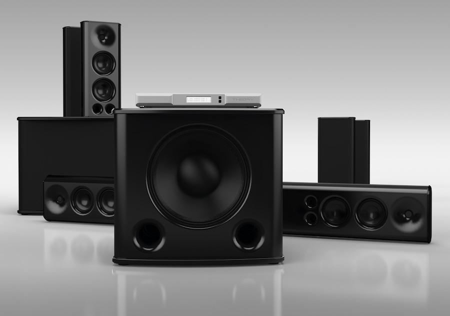 Theory Audio Design 5.2.2 Surround Sound System with SB85 Sound Bar