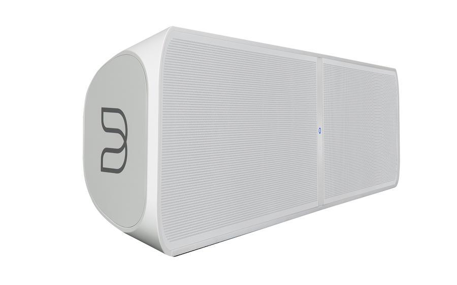 Bluesound Pulse Soundbar+ White Front Angle