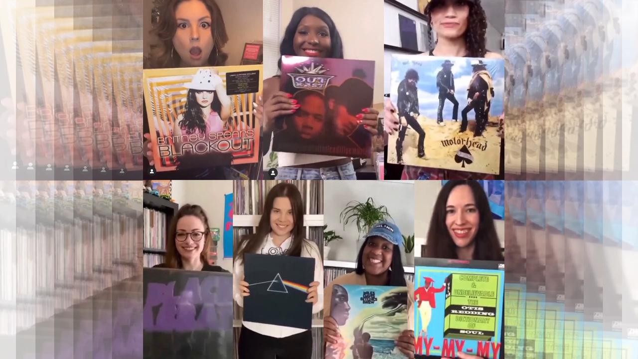 Vinyl Ladies of Instagram