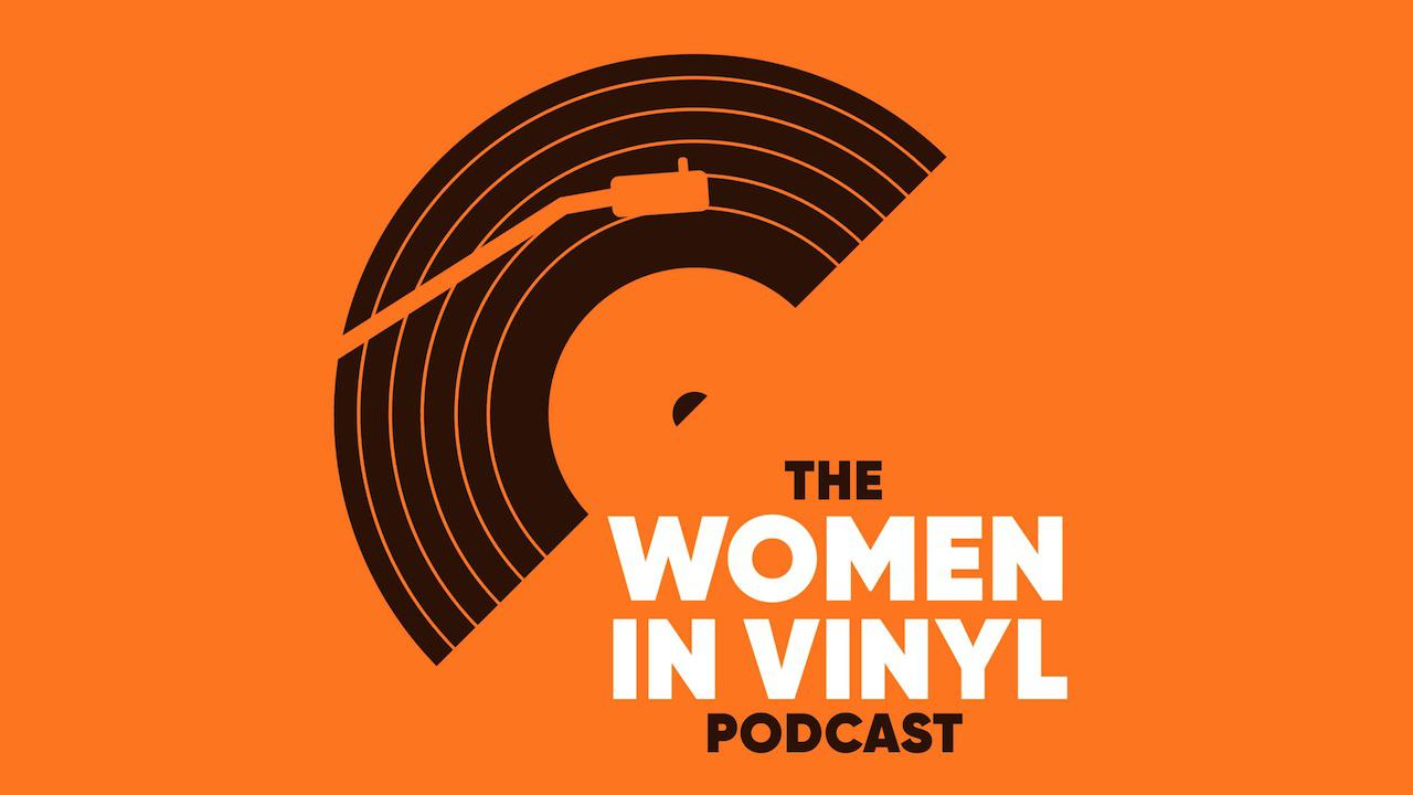 Women in Vinyl Podcast Logo