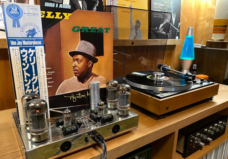 Dual 701 turntable and Wynton Kelly Album