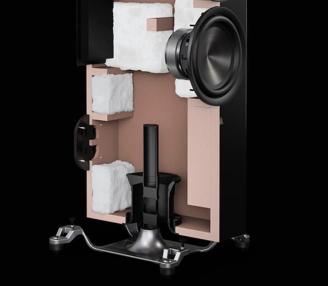 Polk Audio Reserve Series Port Cutaway