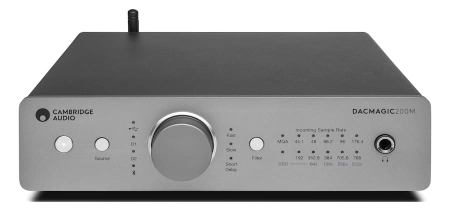 Cambridge Audio DacMagic 200m DAC Headphone Amplifier Front