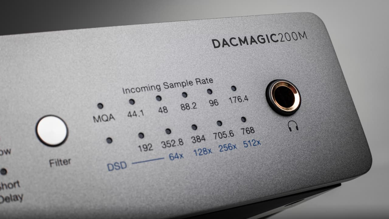 Cambridge Audio DacMagic 200m DAC Headphone Amplifier Detail