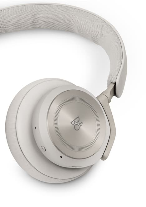 Bang & Olufsen Beoplay HX Wireless Headphones in Sand Earcup Closeup