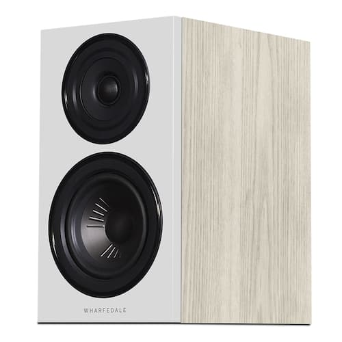 Wharfedale Diamond 12.1 Bookshelf Loudspeaker in light oak