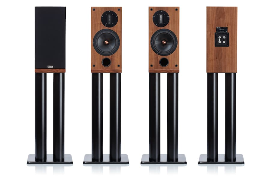 ProAc Response D2R Stand-mount Loudspeakers Front and Back