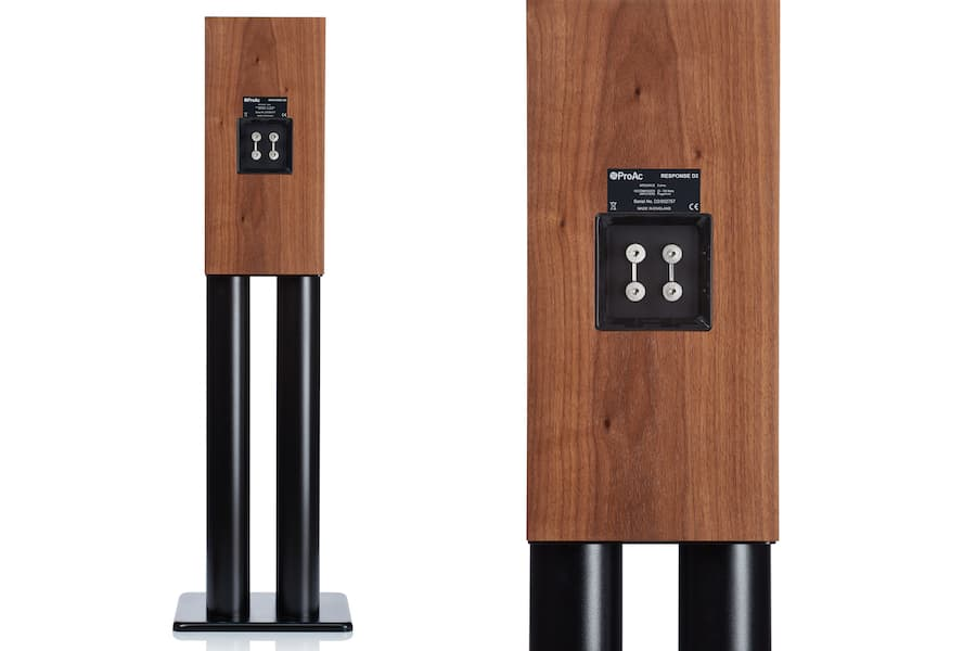 ProAc Response D2R Stand-mount Loudspeakers back