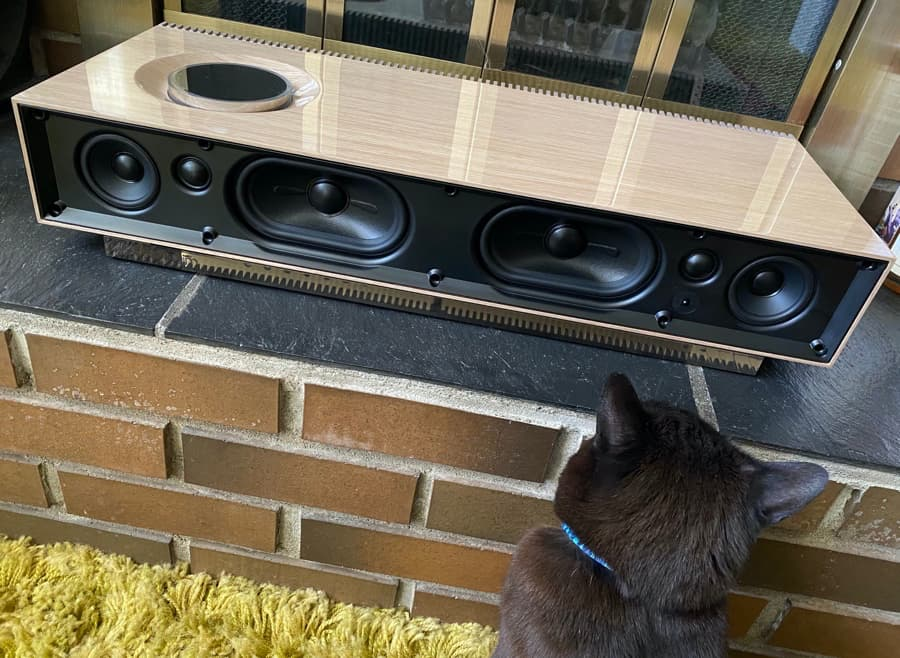 Naim Mu-su 2nd Generation Wood Edition No Grille with Cat