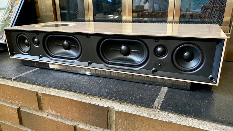 Naim Mu-su 2nd Generation Wood Edition Speaker Drivers Grille Off