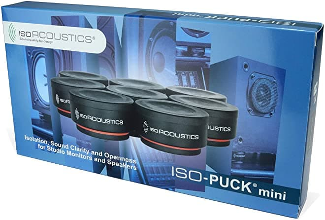 IsoAcoustics ISO-PUCK mini 8-pack Box