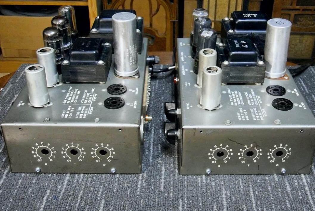 Muzak Model 975A Tube Amplifier Side View from eBay Ad