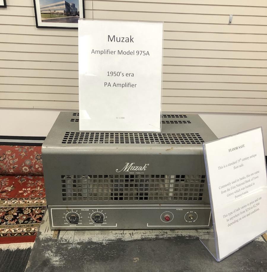 Muzak Model 975A 1950s Era Tube Amplifier