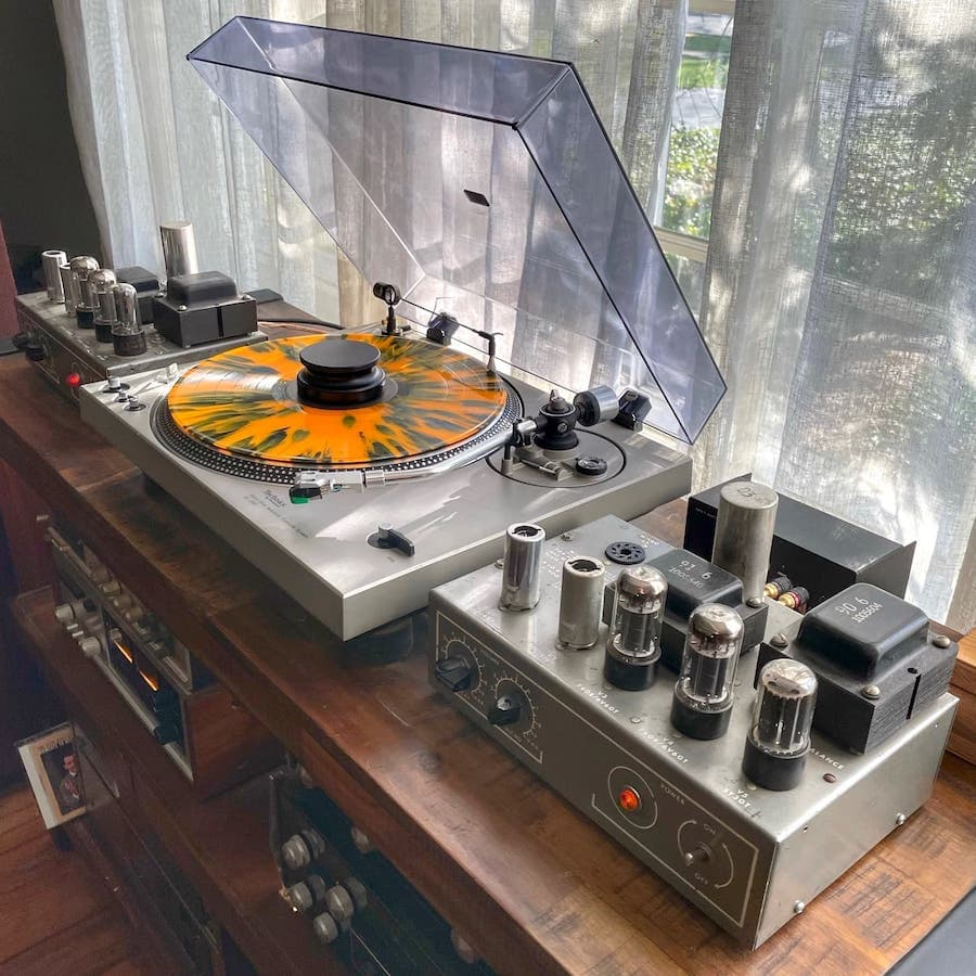 Muzak Model 975A Tube Amplifiers Without Covers