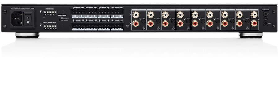 Bowers & Wilkins CDA-16 16-channel distribution power amplifier rear