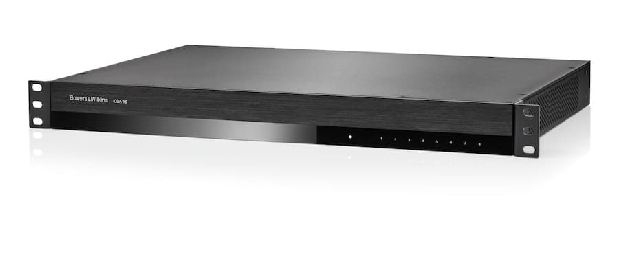 Bowers & Wilkins CDA-16 16-channel distribution power amplifier angle