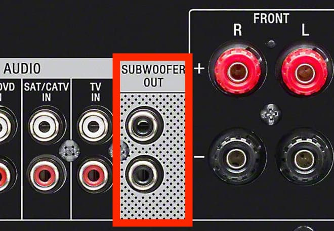 Without output to to subwoofer connect receiver how subwoofer How To