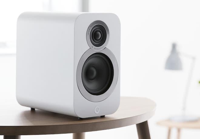 Q Acoustics 3020i Bookshelf Loudspeakers White