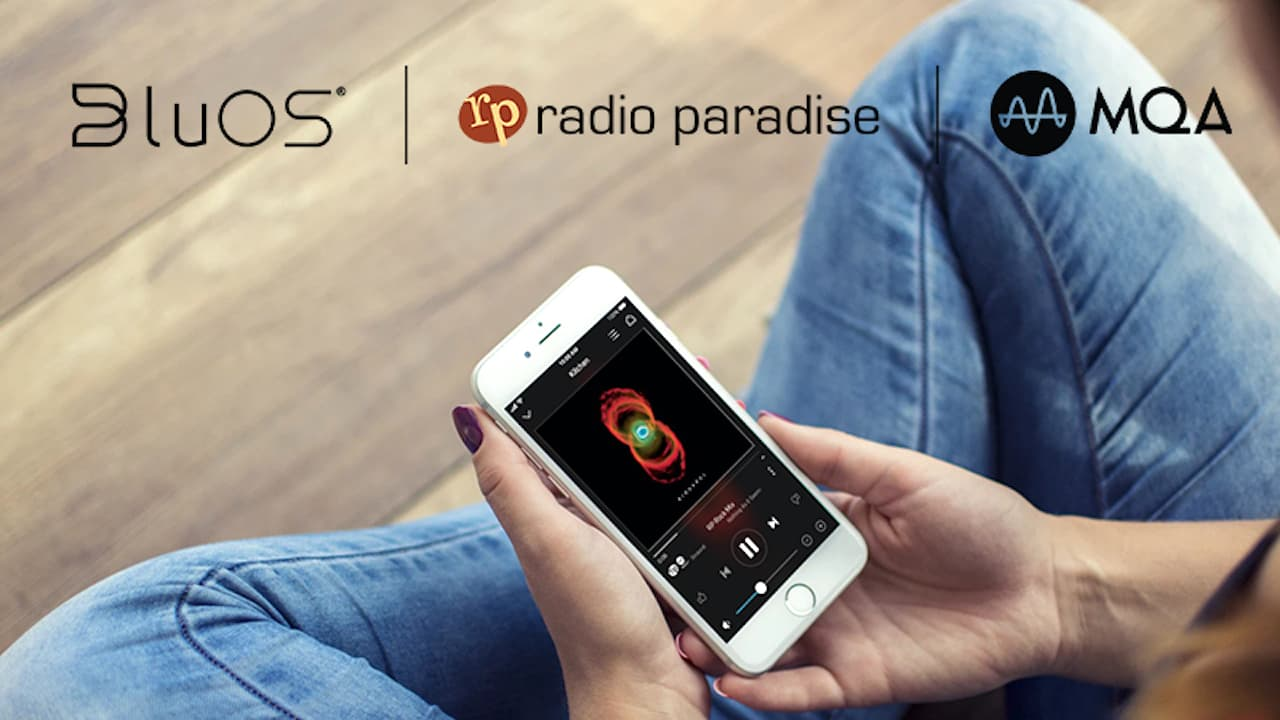 BluOS Radio Paradise MQA Audio Streaming