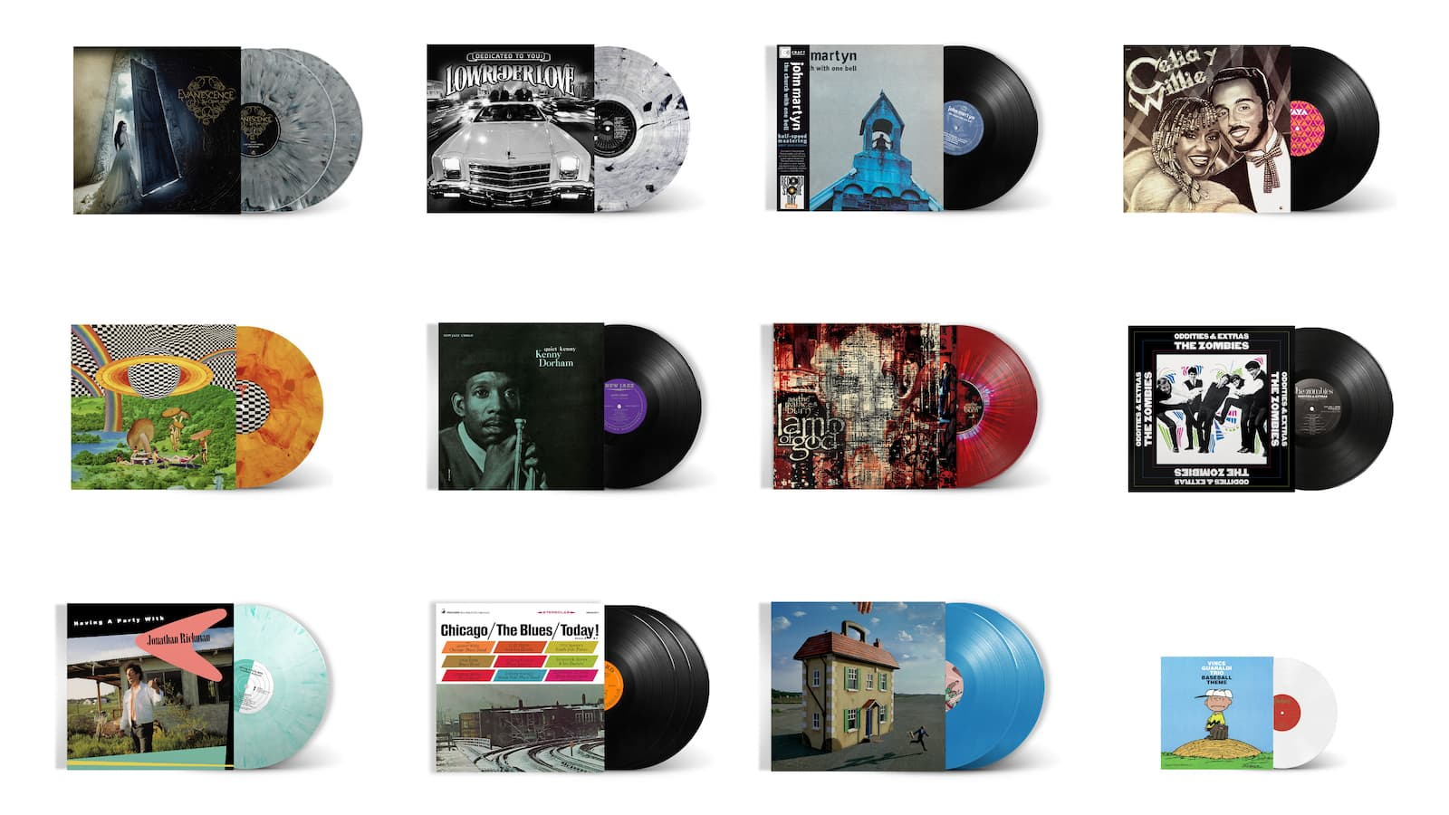 Craft Recordings Vinyl Reissues for Record Store Day 2021