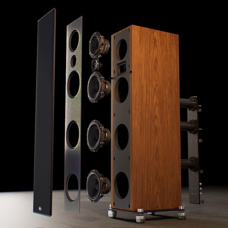 PSB Synchrony T600 Loudspeaker Exploded