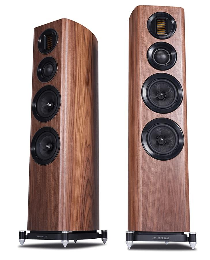 Wharfedale EVO 4.4 Floorstanding Loudspeakers in Walnut