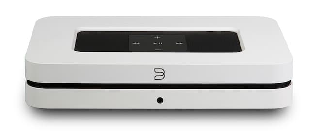 Bluesound Node 2i front view in white