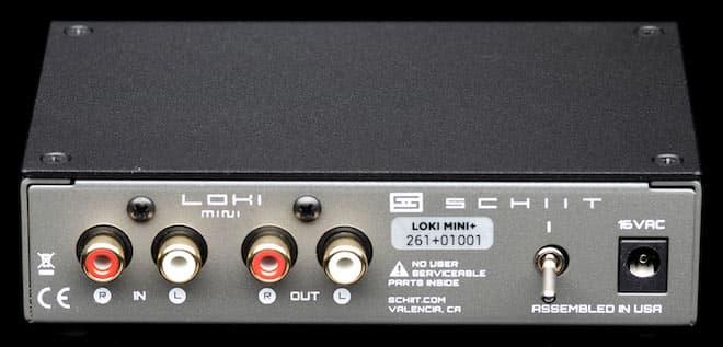 Schiit Audio Loki Mini+ Rear