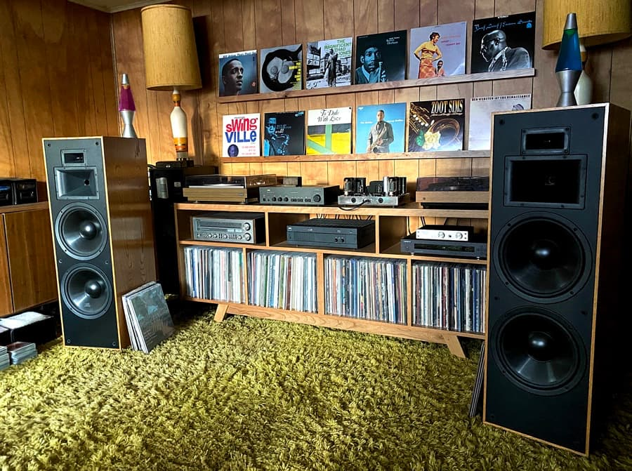 NAD 3020 and 2600 with Klipsch KLF-30 Speakers