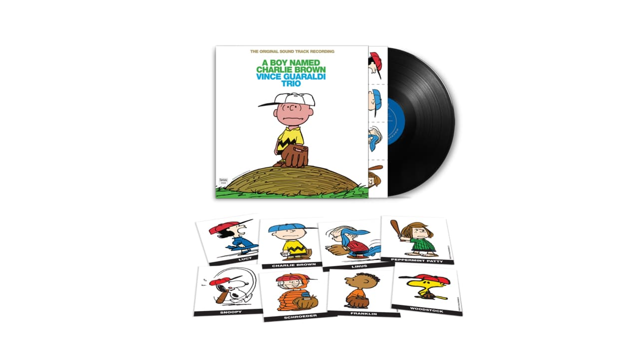 Vince Guaraldi Trio, A Boy Named Charlie Brown Album