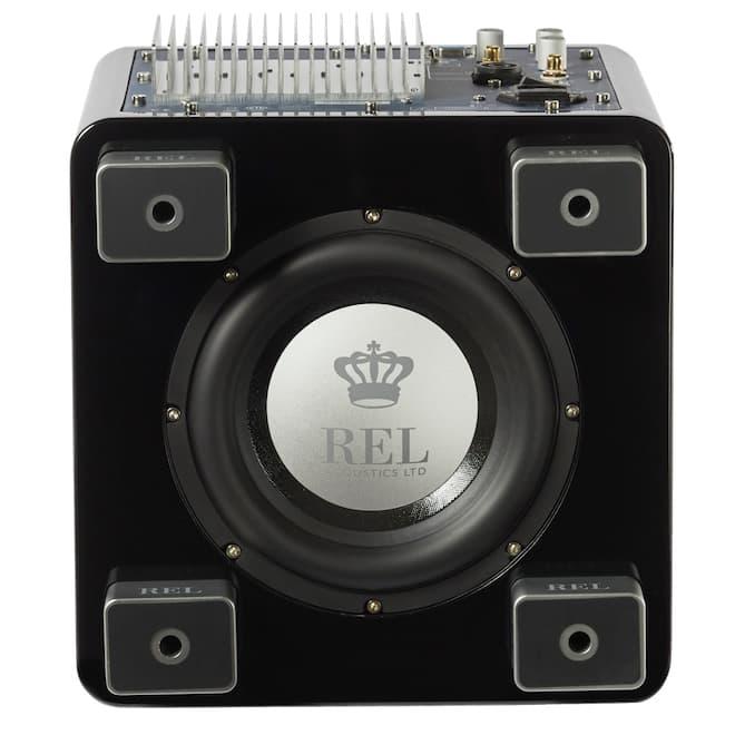 REL T/5x Subwoofer Black Bottom