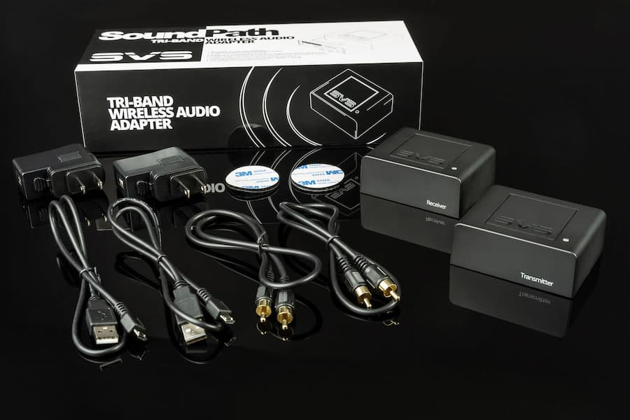 SVS SoundPath Tri-band Wireless Audio Adapter Box Contents