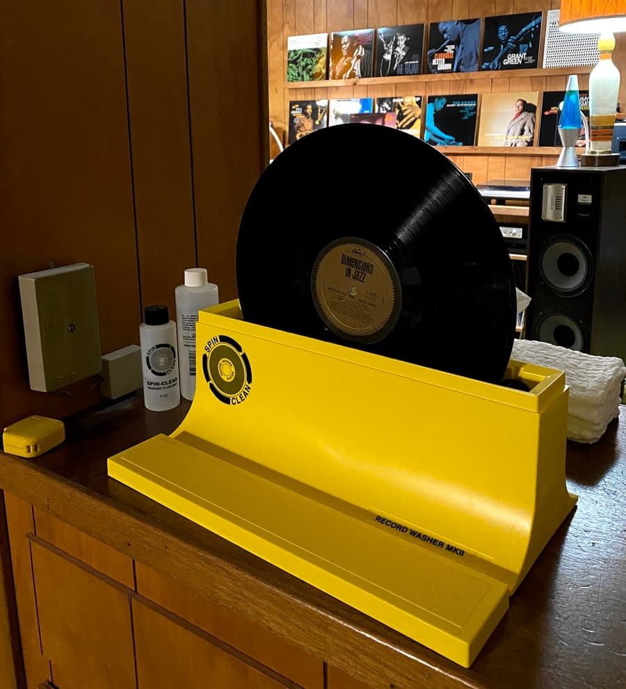 Spin Clean Vinyl Record Cleaner