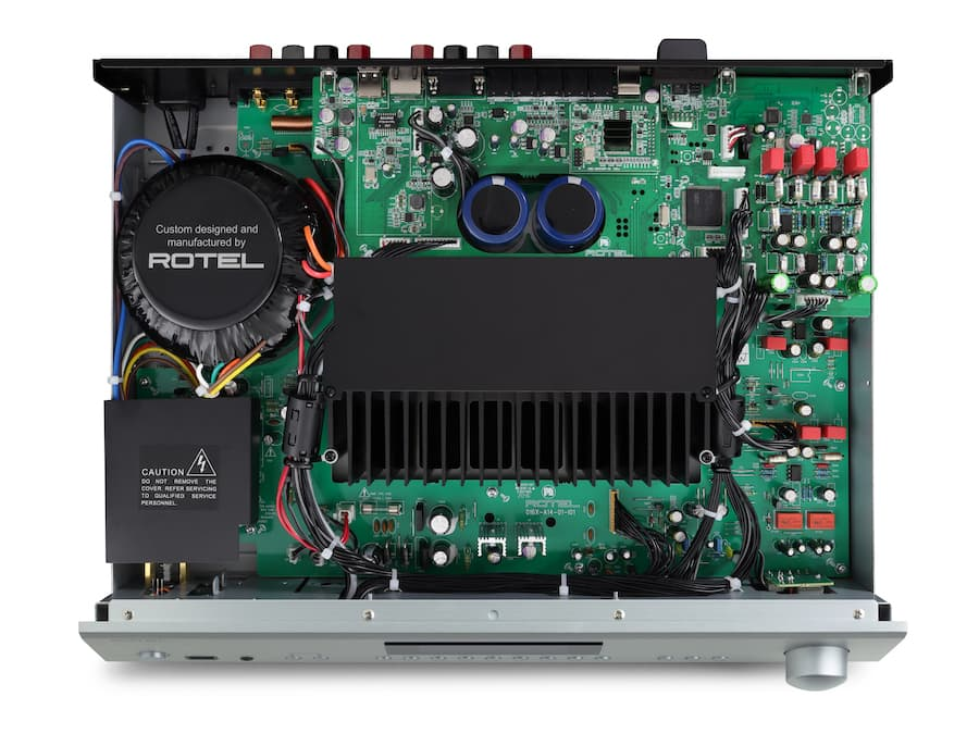 Rotel A14MKII Integrated Amplifier Internal