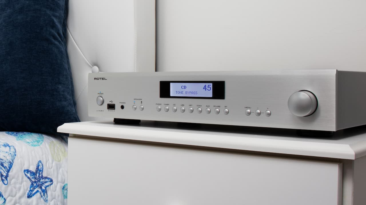 Rotel A14MKII Integrated Amplifier Lifestyle