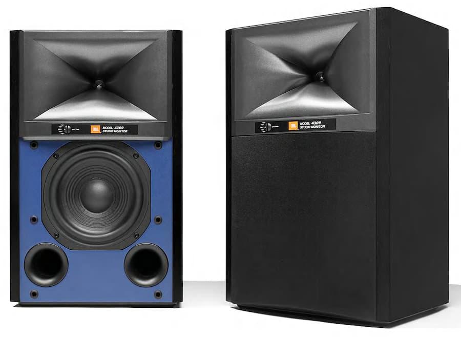 JBL 4309 Studio Monitor Bookshelf Loudspeakers in Black
