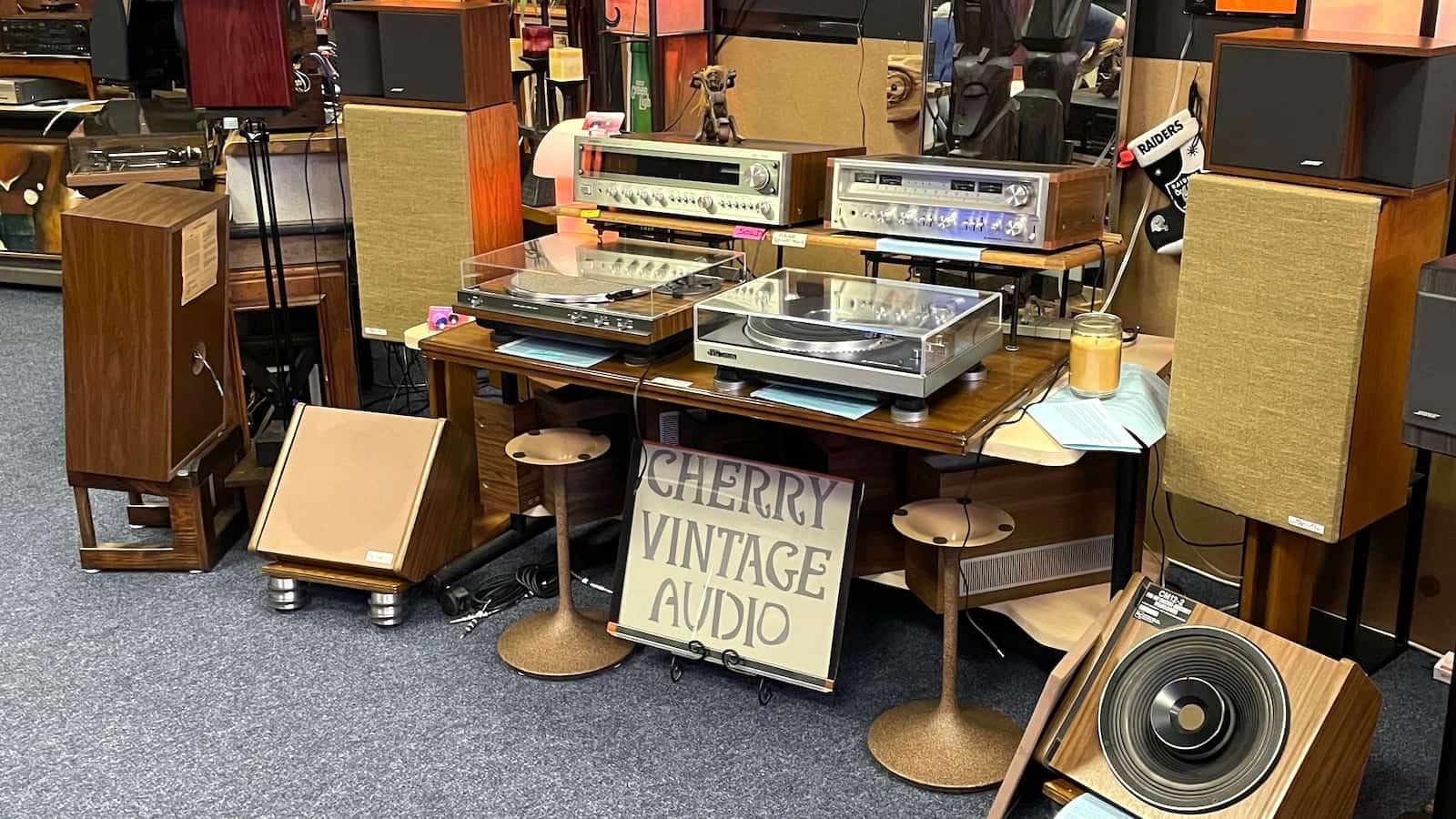 Cherry Vintage Audio