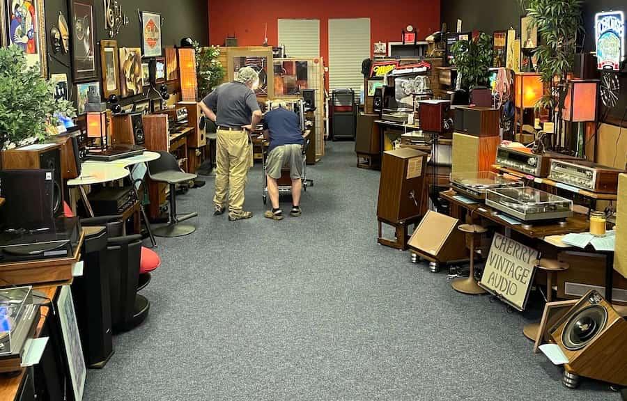 Cherry Vintage Audio Showroom